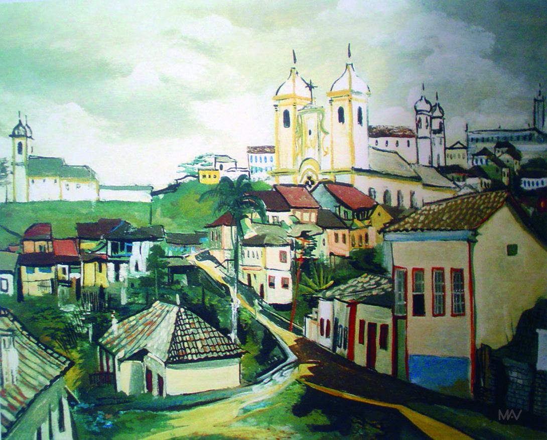 Resultado de imagem para Ouro Preto Guignard
