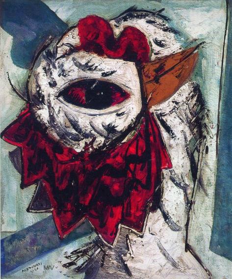 Cândido Portinari. Cabeça de Galo (O olho), 1941. Óleo sobre tela. 55 x 46 cm. Coleção particular. Renato Whitaker..jpg