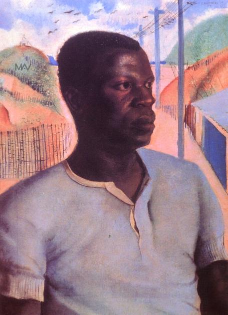 Cândido Portinari. Preto (Cabeça De Negro), 1934. Óleto sobre tela. 70 x 50 cm. Coleção particular, RJ..jpg