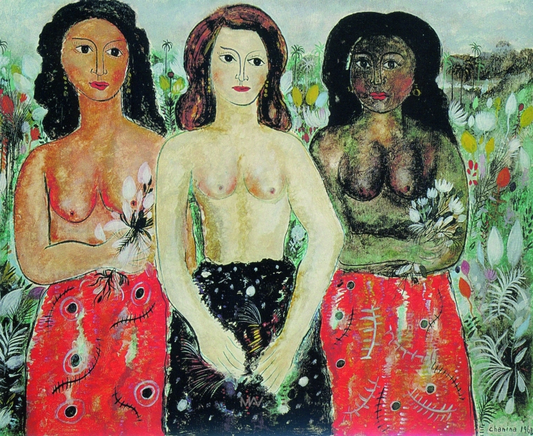 chanina-luwisz-szejnbejn-tres-mulheres-1962-oleo-sobre-tela-595-x-725-cm-museu-de-arte-da-pampulha-belo-horizonte