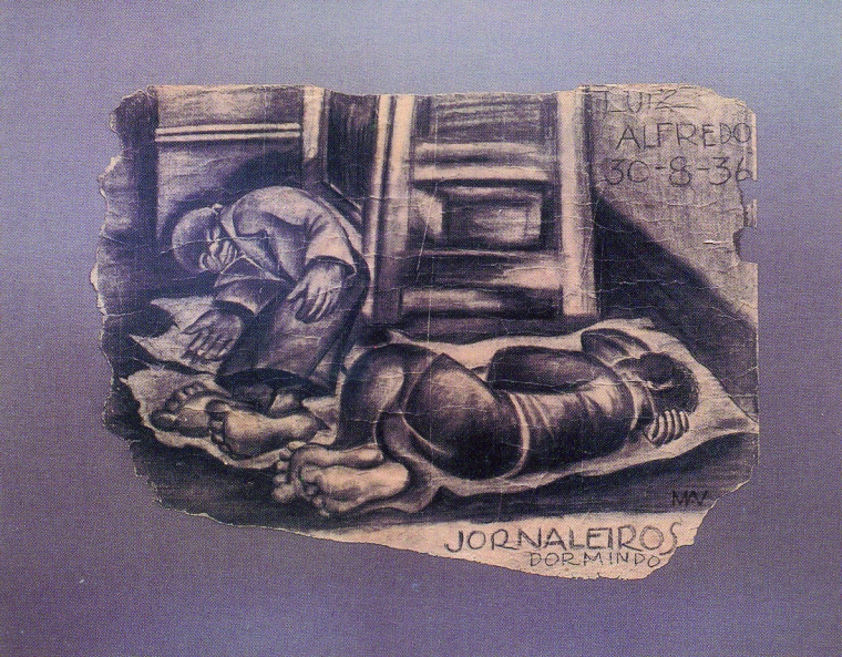 fernando-pierucetti-jornaleiros-1936-carvao-papel-755-x-60-cm-museu-mineiro-belo-horizonte