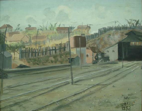 israel-candido-de-oliveira-morro-de-pedreira-tinta-a-oleo-sobre-compensado-de-madeira-40-x-49-cm-1952-acervo-museu-de-arte-da-pampulha-fmc