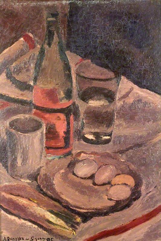 Dunoyer de Segonzac, Andre, 1884-1974; Still Life with Eggs