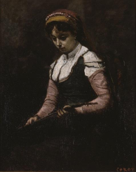 corot-mandoline