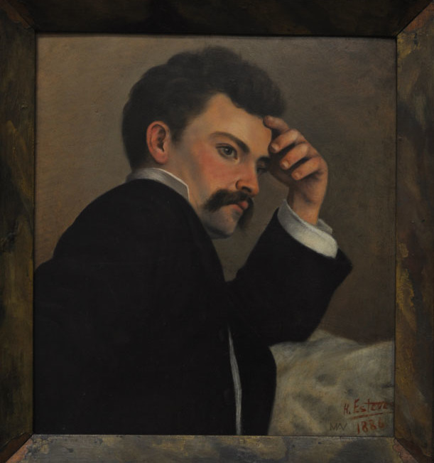 honorio-esteves-autoretrato
