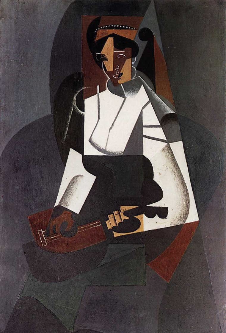 juan_gris_1916_woman_with_mandolin_after_corot_la_femme_a_la_mandoline_dapres_corot_oil_on_canvas_92_x_60_cm_kunstmuseum_basel