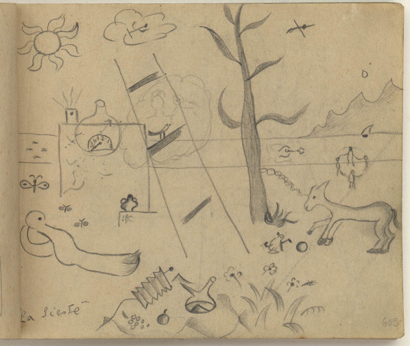 preliminary-drawing-for-the-siesta-1925
